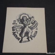 Arte: EXLIBRIS ANTONI PACH. Lote 223632666
