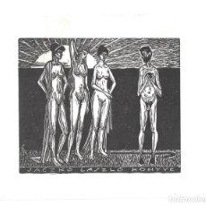 Arte: EX- LIBRIS.- JACZKO LASZLO KONYVE. DESNUDO. ILUSTRADO POR BÉLA STETTNER. HUNGRIA. LIBROS- 1963. Lote 288937033