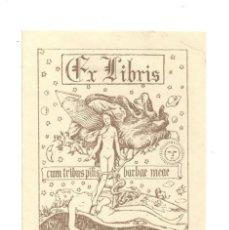 Arte: EX- LIBRIS.- LLUIS I AURÈLIA. DESNUDO. EVA EN EL EDEN. ARTE. LIBROS. Lote 288937068