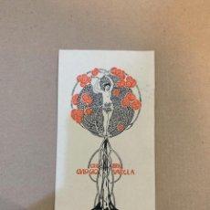 Arte: EX LIBRIS / BOOKPLATE / EULOGIO VARELA / JOSEP TRIADO I MAYOL / 1903-1904. Lote 229968705