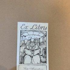 Arte: EX LIBRIS/ BOOKPLATE / LUIS ARMENTEROS / ANTON PIECK. Lote 229971570