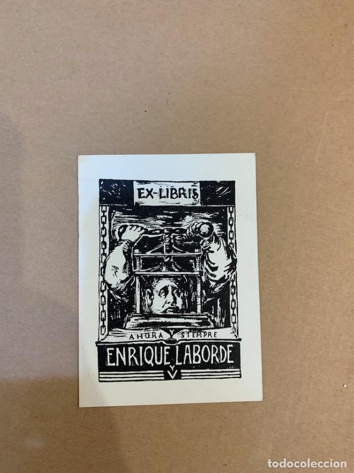 EX LIBRIS / BOOKPLATE / ENRIQUE LABORDE (Arte - Ex Libris)