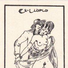Art: EX LIBRIS ERÓTICO AUTOR JUAN VICENTE BOTELLA. Lote 233520610