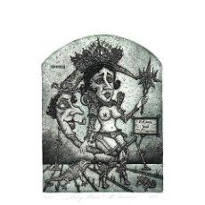 Art: EXLIBRIS KIRILL SKACHKOV, 2013 FIRMADO Y NUMERADO POR EL ARTISTA A MANO.. Lote 235191235