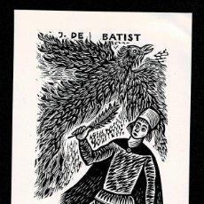 Arte: A4-8-1 EX LIBRIS DE A. VERMEYLEN PARA JOHAN DE BATIST.. Lote 235592625