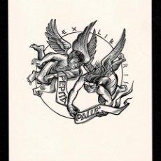 Arte: A4-17-1 EX LIBRIS DE GERARD GAUBAEN PARA PEPITA VALLÉ 1981. Lote 235606900