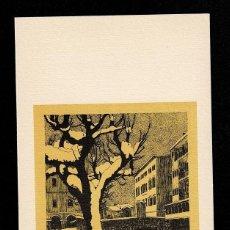 Arte: A4-18-6 GRAVADO DE LINO ROSSI 1980 AUTOGRAFIADO. Lote 235609590