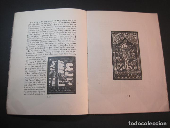 Arte: THE MODERN TREND IN SOME CONTINENTAL EX LIBRIS-WINWARD PRESCOTT-AÑO 1927-VER FOTOS-(K-1753) - Foto 9 - 238834760