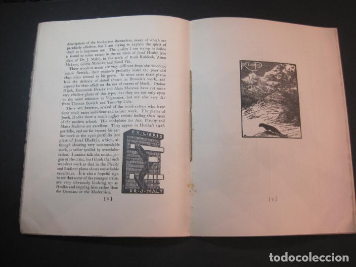 Arte: THE MODERN TREND IN SOME CONTINENTAL EX LIBRIS-WINWARD PRESCOTT-AÑO 1927-VER FOTOS-(K-1753) - Foto 11 - 238834760