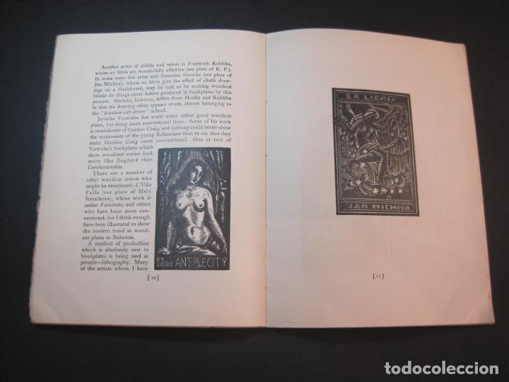 Arte: THE MODERN TREND IN SOME CONTINENTAL EX LIBRIS-WINWARD PRESCOTT-AÑO 1927-VER FOTOS-(K-1753) - Foto 12 - 238834760