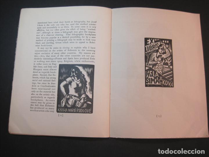 Arte: THE MODERN TREND IN SOME CONTINENTAL EX LIBRIS-WINWARD PRESCOTT-AÑO 1927-VER FOTOS-(K-1753) - Foto 13 - 238834760