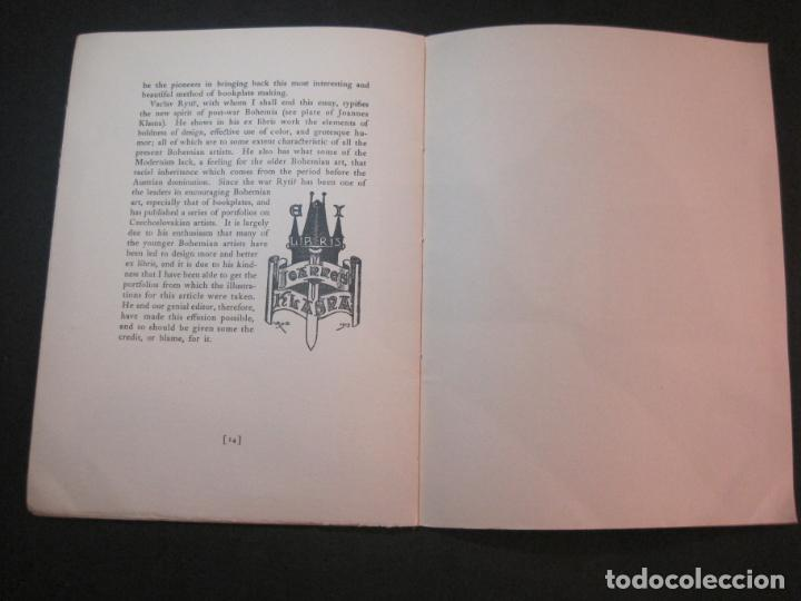 Arte: THE MODERN TREND IN SOME CONTINENTAL EX LIBRIS-WINWARD PRESCOTT-AÑO 1927-VER FOTOS-(K-1753) - Foto 14 - 238834760