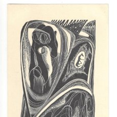 Arte: EX- LIBRIS.- RIVAN RAIJERI. AMICI DELL EX LIBRIS. DESNUDO. ARTE. ANIMALES. FORLI. ITALIA- 1955. Lote 288937118