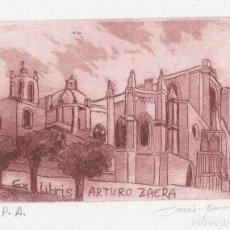 Arte: EX-LIBRIS DE LUISA GARCIA MURO PARA ARTURO ZAERA – FIRMADO. Lote 248029420
