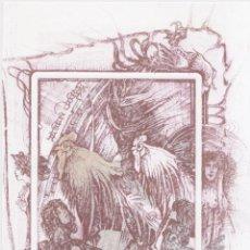 Arte: EX-LIBRIS DE PAVEL HLAVATY PARA ARTURO ZAERA - FIRMADO. Lote 248032545
