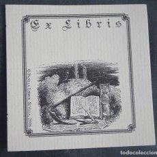 Arte: EX LIBRIS PADILLA LIBROS , SEVILLA 2006 , VER FOTOS. Lote 250168825
