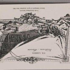Arte: EXLIBRIS VICTORIA MARIA FONDS BIBLIOTHEQUE NATIONALE GRAVURE CASSEGRAIN PARIS 1990. Lote 251618560
