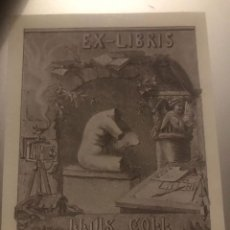 Arte: EXLIBRIS. Lote 252864455