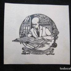 Arte: EX LIBRIS-J.CARDOSO GONÇALVES-VER FOTOS-(X-3019). Lote 260757080