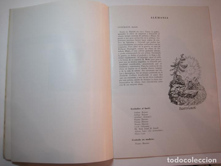 Arte: EX LIBRIS-CATALOGO ILUSTRADO DE LA EXPOSICION INTERNACIONAL-BARCELONA AÑO 1957VER FOTOS-(K-2715) - Foto 6 - 261625290
