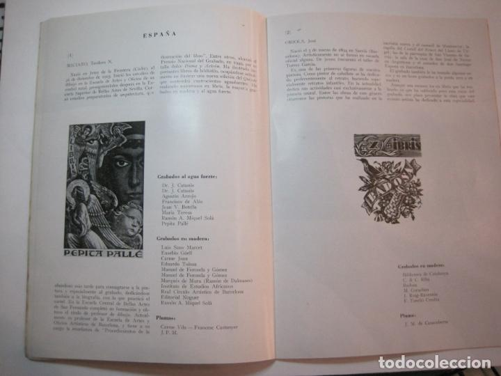 Arte: EX LIBRIS-CATALOGO ILUSTRADO DE LA EXPOSICION INTERNACIONAL-BARCELONA AÑO 1957VER FOTOS-(K-2715) - Foto 10 - 261625290