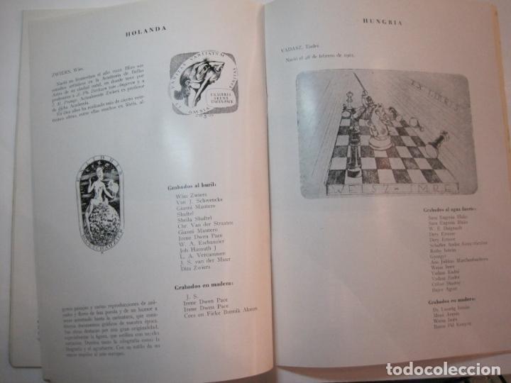 Arte: EX LIBRIS-CATALOGO ILUSTRADO DE LA EXPOSICION INTERNACIONAL-BARCELONA AÑO 1957VER FOTOS-(K-2715) - Foto 13 - 261625290