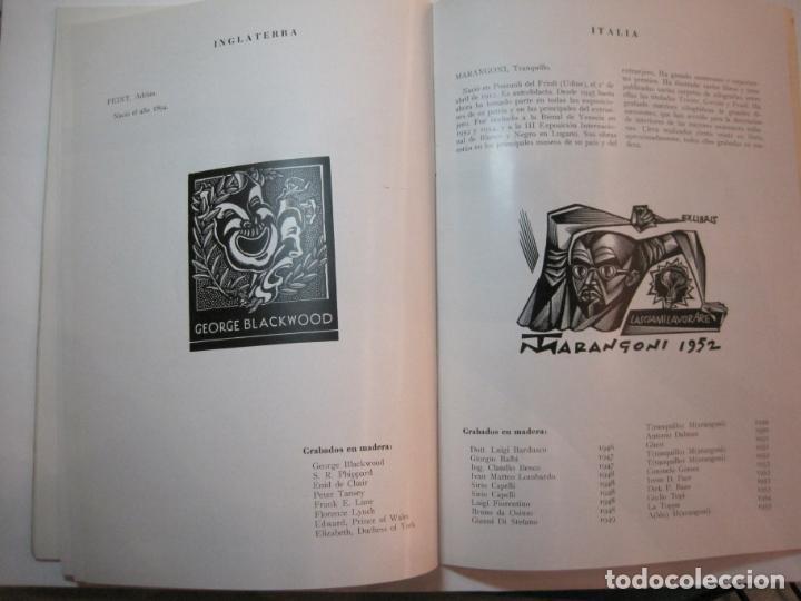 Arte: EX LIBRIS-CATALOGO ILUSTRADO DE LA EXPOSICION INTERNACIONAL-BARCELONA AÑO 1957VER FOTOS-(K-2715) - Foto 14 - 261625290
