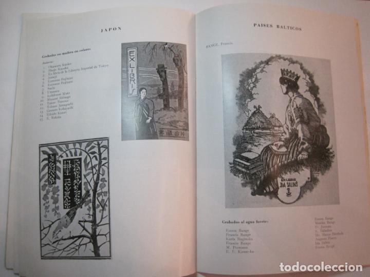Arte: EX LIBRIS-CATALOGO ILUSTRADO DE LA EXPOSICION INTERNACIONAL-BARCELONA AÑO 1957VER FOTOS-(K-2715) - Foto 15 - 261625290