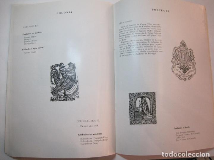 Arte: EX LIBRIS-CATALOGO ILUSTRADO DE LA EXPOSICION INTERNACIONAL-BARCELONA AÑO 1957VER FOTOS-(K-2715) - Foto 16 - 261625290