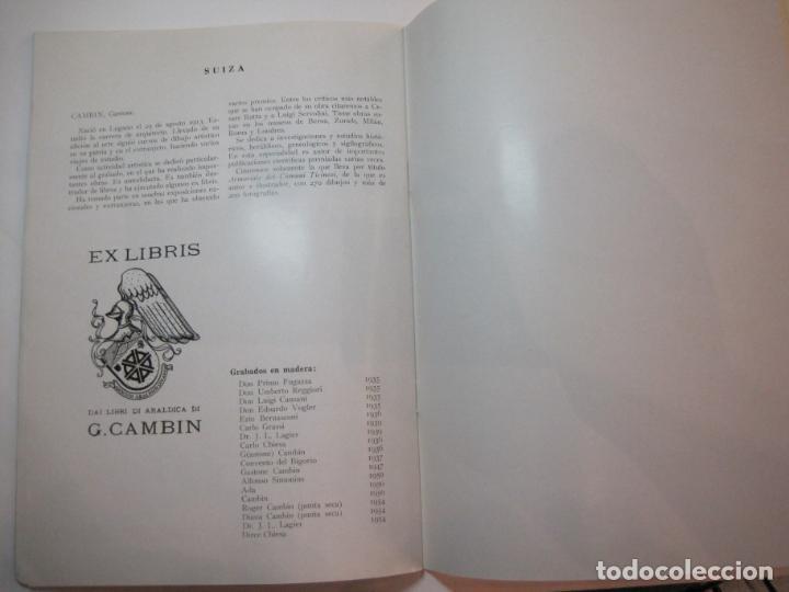 Arte: EX LIBRIS-CATALOGO ILUSTRADO DE LA EXPOSICION INTERNACIONAL-BARCELONA AÑO 1957VER FOTOS-(K-2715) - Foto 18 - 261625290