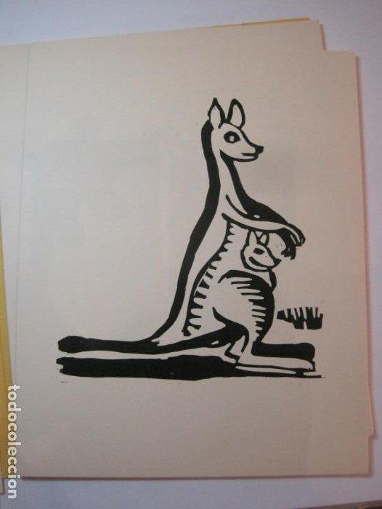 Arte: EX LIBRIS BASADOS EN EL TEMA FAUNA-BARCELONA, 1970-CENTRO MPAL FONOAUDIOLOGICO-VER FOTOS-(K-2719) - Foto 9 - 261625915