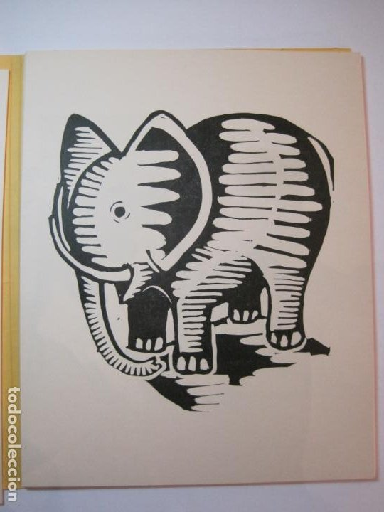 Arte: EX LIBRIS BASADOS EN EL TEMA FAUNA-BARCELONA, 1970-CENTRO MPAL FONOAUDIOLOGICO-VER FOTOS-(K-2719) - Foto 10 - 261625915