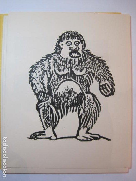Arte: EX LIBRIS BASADOS EN EL TEMA FAUNA-BARCELONA, 1970-CENTRO MPAL FONOAUDIOLOGICO-VER FOTOS-(K-2719) - Foto 12 - 261625915