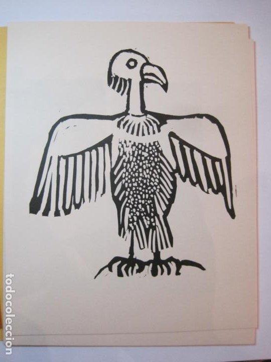 Arte: EX LIBRIS BASADOS EN EL TEMA FAUNA-BARCELONA, 1970-CENTRO MPAL FONOAUDIOLOGICO-VER FOTOS-(K-2719) - Foto 15 - 261625915