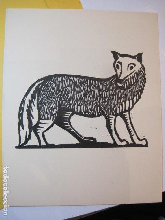 Arte: EX LIBRIS BASADOS EN EL TEMA FAUNA-BARCELONA, 1970-CENTRO MPAL FONOAUDIOLOGICO-VER FOTOS-(K-2719) - Foto 19 - 261625915