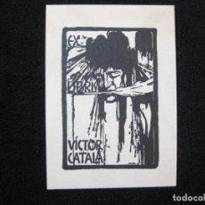 Arte: EX LIBRIS-VICTOR CATALA-TRIADO-VER FOTOS-(80.352). Lote 261853585