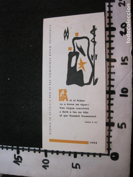 Arte: EX LIBRIS-MARIANO GOMA PUJADAS-FELICITACION ANTIGUA-VER FOTOS-(K-3333) - Foto 5 - 269471178