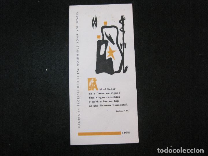 EX LIBRIS-MARIANO GOMA PUJADAS-FELICITACION ANTIGUA-VER FOTOS-(K-3333) (Arte - Ex Libris)