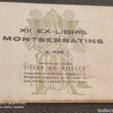 Arte: MONTSERRAT EX-LIBRIS. Lote 271676913