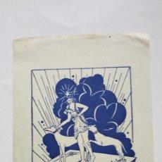 Arte: EX-LIBRIS EXLIBRIS COMPTE I PORTA, 1947?. DIANA CAZADORA PERRO LIBRO PALMA DE MALLORCA. Lote 275464093