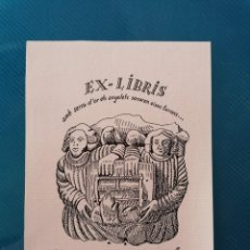 Arte: EXLIBRIS P. ORIOL M. DIVÍ. Lote 275786893
