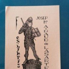 Arte: EXLIBRIS JOSEP MARIA AINAUD DE LASARTE. Lote 275787108