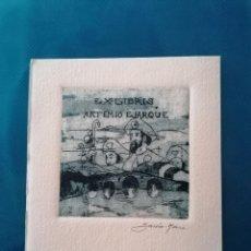 Arte: EXLIBRIS ARTEMIO EJARQUE. Lote 275789038
