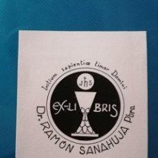 Arte: EXLIBRIS RAMON SANAHUJA (PENEDÈS). Lote 275789673