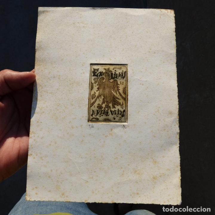 EX LIBRIS DE A REAL URIOS, (Arte - Ex Libris)