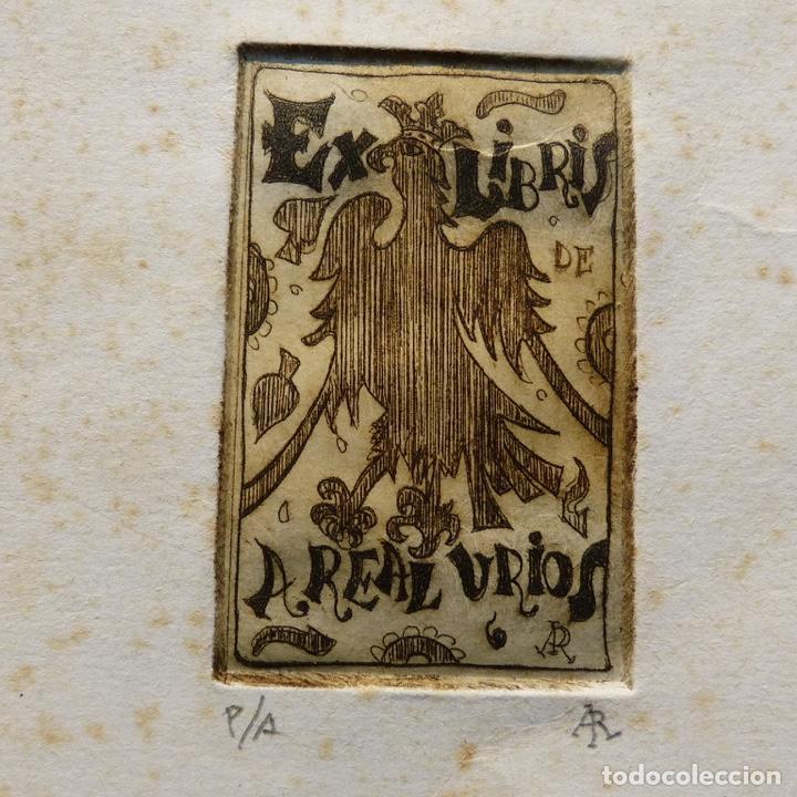 Arte: Ex libris de A Real Urios, - Foto 2 - 277835518
