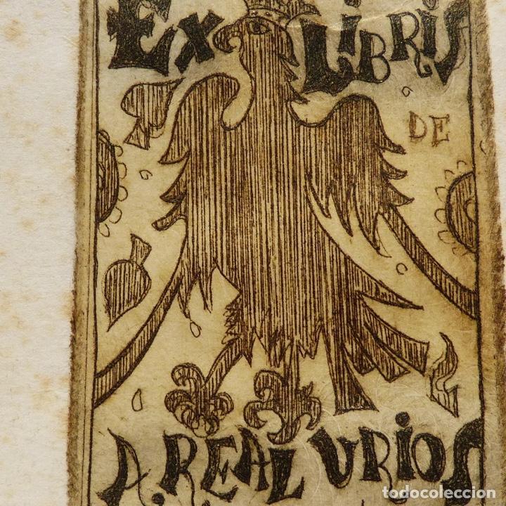 Arte: Ex libris de A Real Urios, - Foto 3 - 277835518