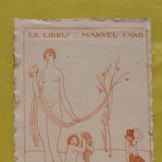 Arte: EX-LIBRIS MANUEL CANO. Lote 284567598
