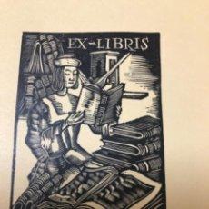Arte: EXLIBRIS , TOMAS RIPOLL. Lote 285843598
