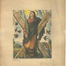Arte: 3571.- E.C.RICART - BOIX - EX. LIBRIS -PROVA D`ASSAIG - DEDICATORIA AUTOGRAFA I SIGNAT. Lote 292152323